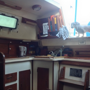 Sailboat - Hunter 30 - Galley