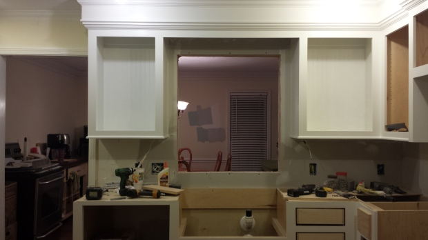 kitchen renovation benjamin moore white dove